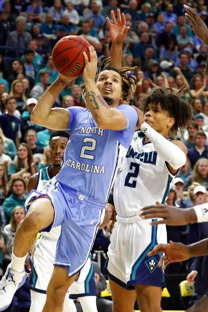 North Carolina Tar Heels at North Carolina-Wilmington Seahawks 11/8/2019