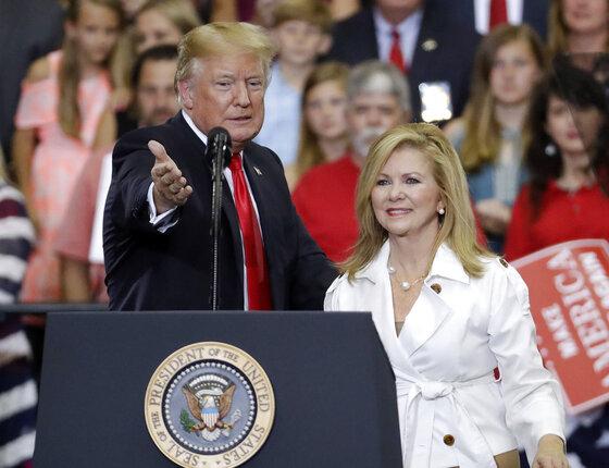 Donald Trump, Marsha Blackburn