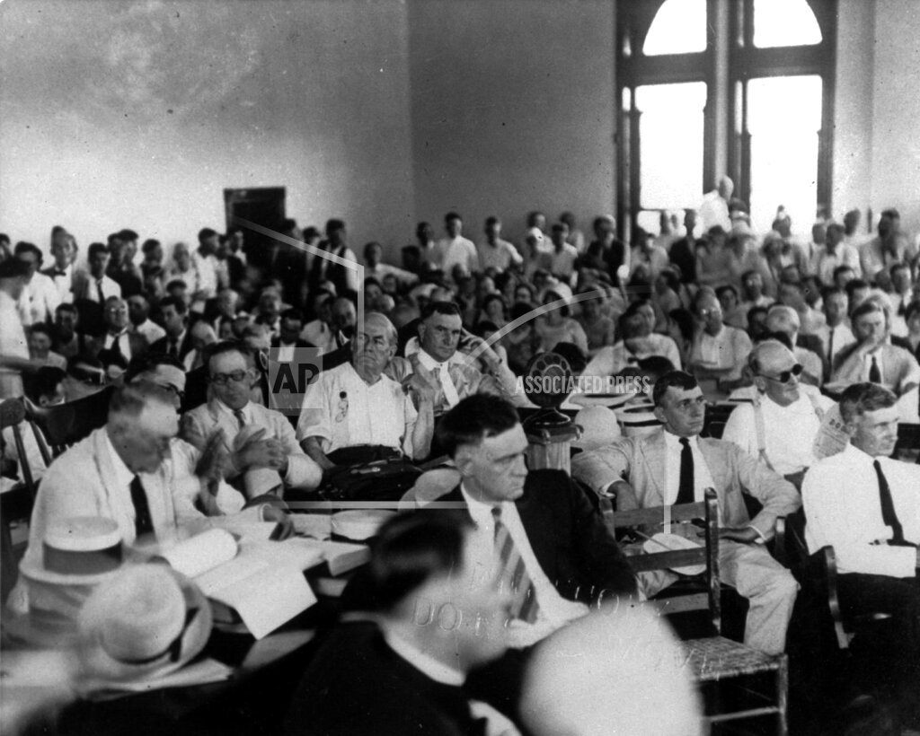 Associated Press Domestic News Tennessee United States SCOPES TRIAL