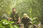 This image released by Roadside Attractions shows Jeremy Irvine, left, in a scene from