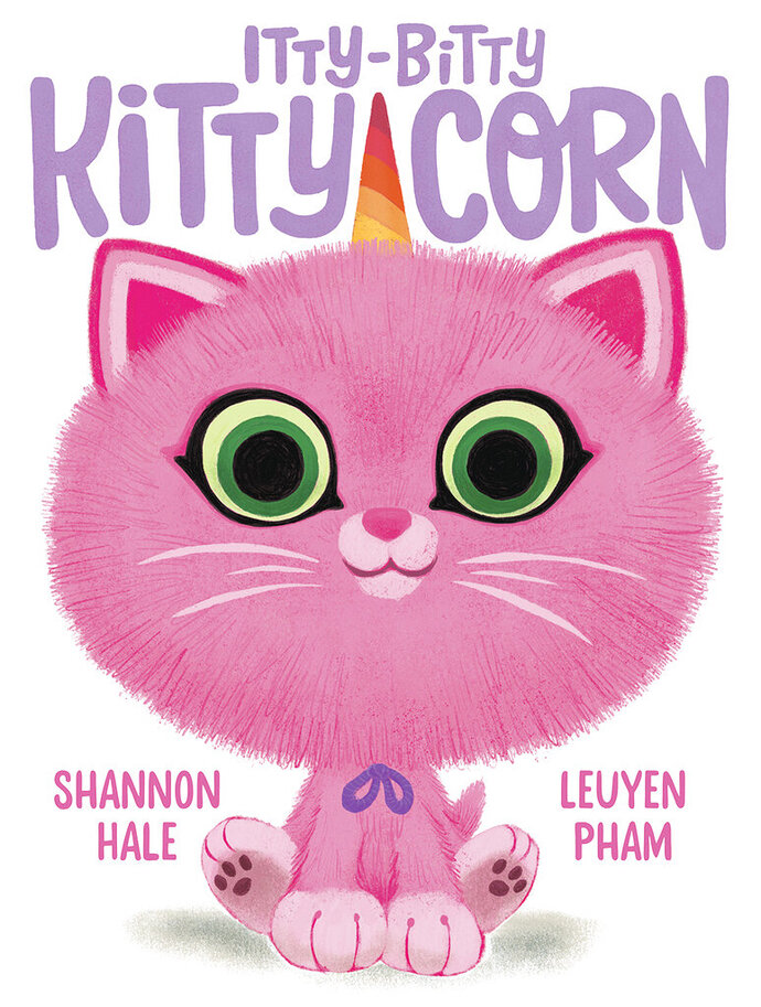 "This cover image released by Abrams Books shows ""Itty-Bitty Kitty-Corn,"