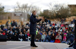 Presidential candidate Sen. Elizabeth Warren, D-Mass., speaks at an organizing event Sunday, Feb. 17, 2019, in Las Vegas. (AP Photo/John Locher)