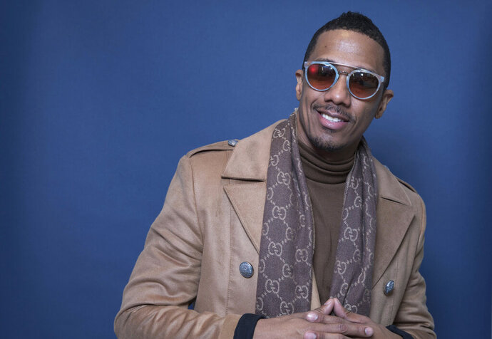 "FILE - In this Dec. 10, 2018, file photo Nick Cannon poses for a portrait in New York. Cannon's ""hateful speech"" and anti-Semitic conspiracy theories led ViacomCBS to cut ties with the performer, the media giant said. ""ViacomCBS condemns bigotry of any kind and we categorically denounce all forms of anti-Semitism,"