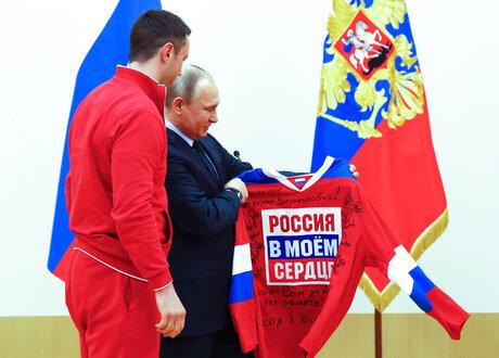 Russia Putin Olympics