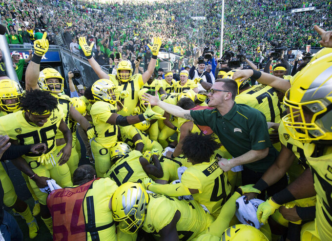 Point made: No. 12 Oregon gets validation plan is working