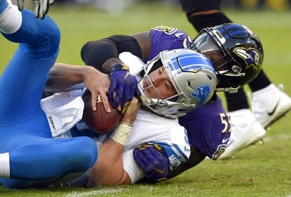 Matthew Stafford, Terrell Suggs