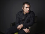 """This Oct. 15, 2019 photo shows singer Liam Gallagher posing for a portrait at the Sunset Marquis Hotel in West Hollywood, Calif., to promote his sophomore solo album """"Why Me? Why Not."""" (Photo by Chris Pizzello/Invision/AP)"""