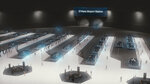 This undated artist's rendering provided by The Boring Company, shows part of a proposed high-speed underground transportation system that will transport passengers from downtown Chicago to O'Hare International Airport. A spokesman for Chicago Mayor Rahm Emanuel confirmed Wednesday, June 13, 2018, that The Boring Company, founded by Tesla CEO Elon Musk has been selected to build the transportation system. (The Boring Company via AP)