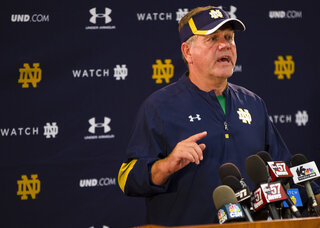 Notre Dame Players Arrested Football