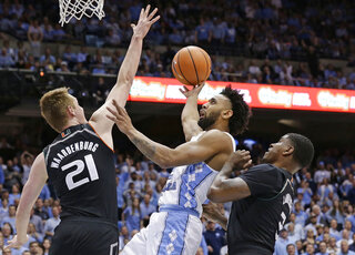 Joel Berry II, Anthony Lawrence II, Sam Waardenburg