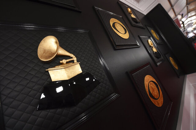 A view of the red carpet appears prior to the start of the 62nd annual Grammy Awards at the Staples Center on Sunday, Jan. 26, 2020, in Los Angeles. (Photo by Jordan Strauss/Invision/AP)