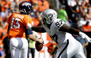 Raiders Broncos Football