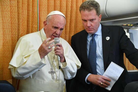 Azerbaijan Pope Caucasus