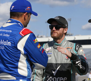Dale Earnhardt Jr., Elliott Sadler