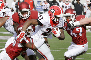 Nick Chubb, Martrell Spaight, Rohan Gaines, JaMichael Winston