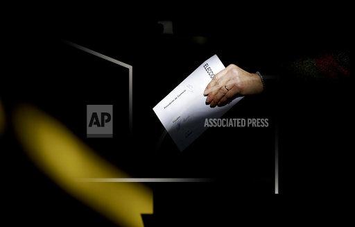 APTOPIX Argentina Primary Elections