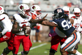 Louisville Virginia Football