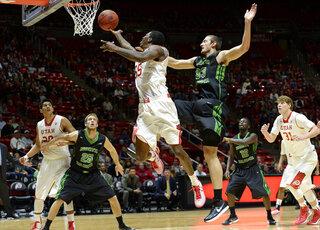 North Dakota Utah Basketball