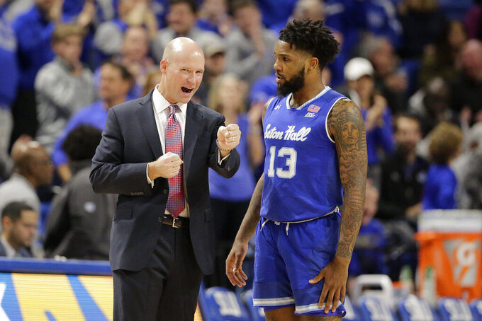 Powell scores 26 points, No. 12 Seton Hall beats Saint Louis