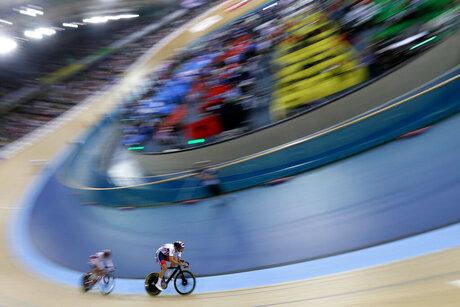 APTOPIX Britain Track Cycling World Championships