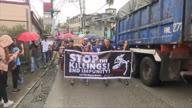 Philippines Drug War Demo