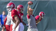 Alabama Practice Football