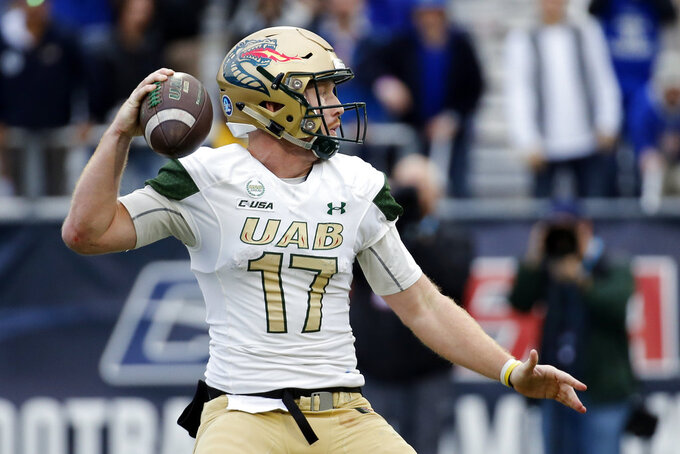 UAB beats Middle Tennessee in C-USA title game 27-25