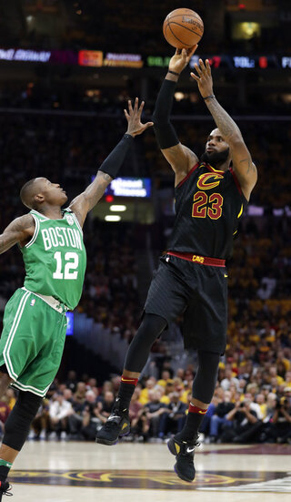 LeBron James, Terry Rozier