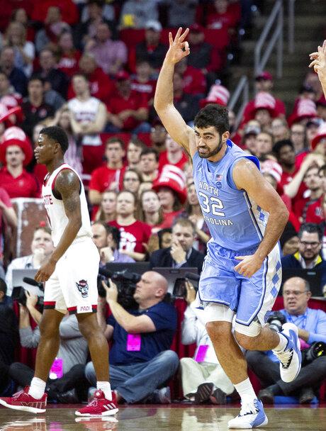 North Carolina NC State Basketball