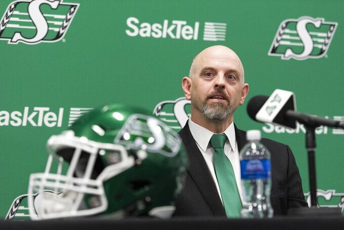 Saskatchewan Roughriders hire Craig Dickenson as head coach