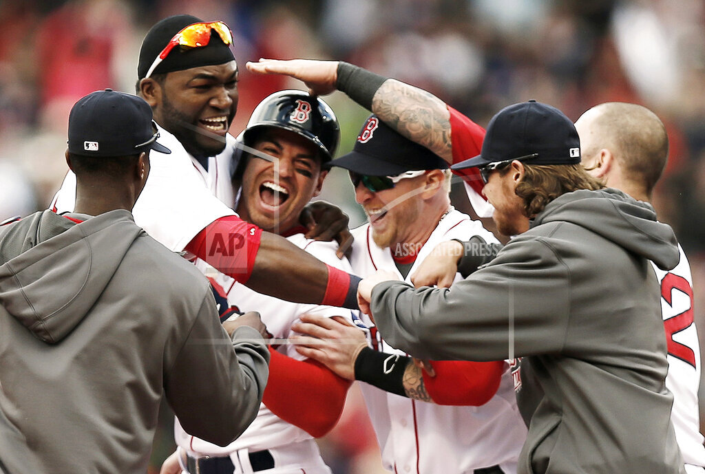 APTOPIX Indians Red Sox Baseball