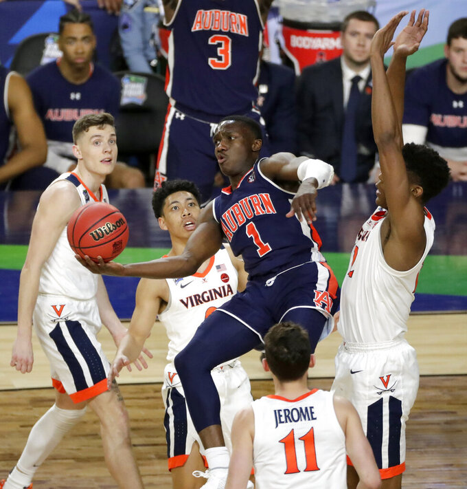 Auburn point guard Jared Harper to leave school, enter draft
