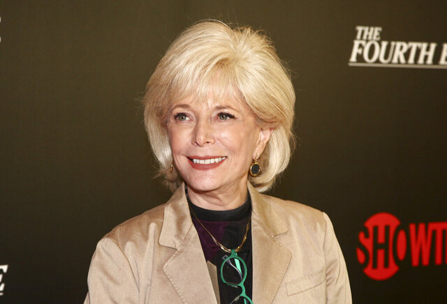FILE - In this May 9, 2018, file photo, Lesley Stahl attends a panel discussion about the Showtime documentary