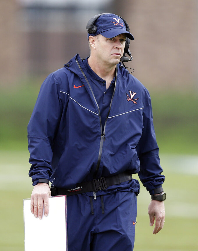 Virginia looks for better showing against triple-option