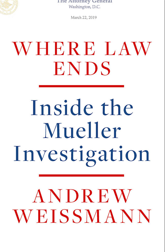This photo provided by Random House shows the cover of Andrew Weissmann's