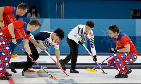 Pyeongchang Olympics Curling Men