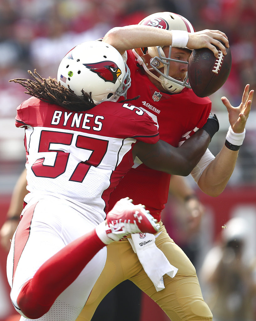 Josh Bynes, C.J. Beathard