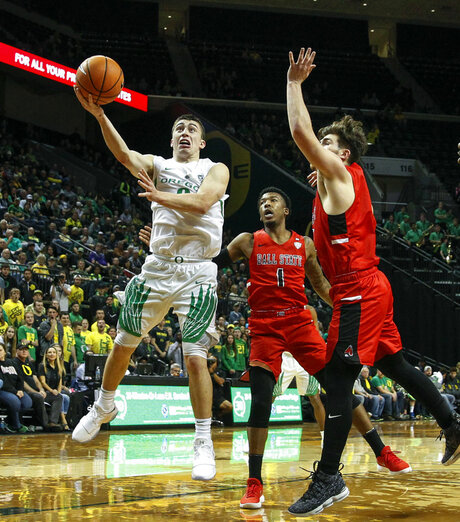 Ball St Oregon Basketball