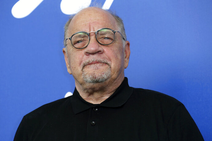 FILE - In this Aug. 31, 2017 file photo, director Paul Schrader poses for photographers at the photo call for his film,