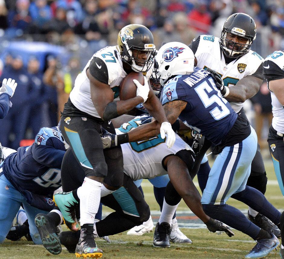 Titans Run D Football