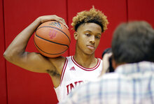 Indiana Media Day Basketball