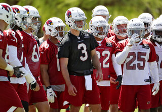 Cardinals Rookie Camp Football