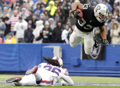 APTOPIX Raiders Bills Football