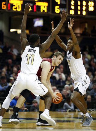 South Carolina Vanderbilt Basketball