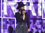 FILE - In this Feb. 10, 2019, file photo, host Alicia Keys speaks at the 61st annual Grammy Awards in Los Angeles. Keys will be among a star-studded guest list for the Rock and Roll Hall of Fame 2020 induction. (Photo by Matt Sayles/Invision/AP, File)