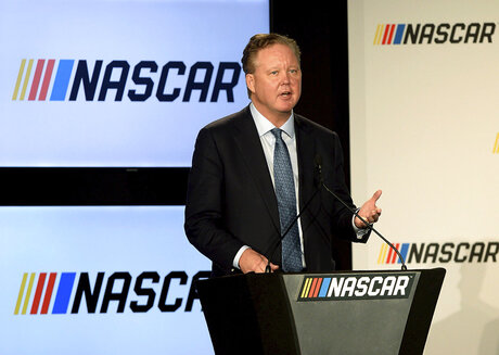 NASCAR France Arrested Auto Racing