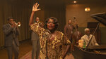 This image released by Netflix shows Chadwick Boseman, from left, Colman Domingo, Viola Davis, Michael Potts and Glynn Turman in