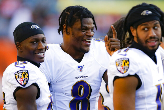 Ravens' Jackson masters art of winning while having fun