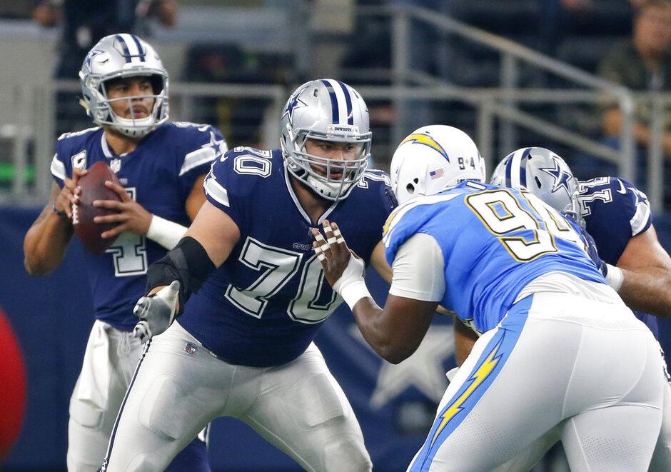 Cowboys-Improving Line Football