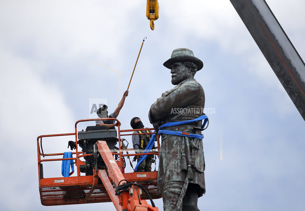 Confederate Statues Mayors Request